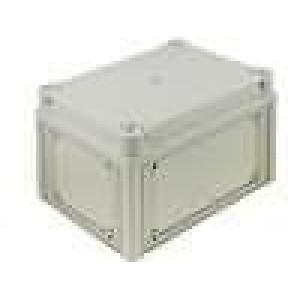 Krabička univerzální X:180mm Y:250mm Z:158mm ABS Barva víka šedé