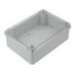 Krabička univerzální X:130mm Y:180mm Z:60mm ABS šedá IP65
