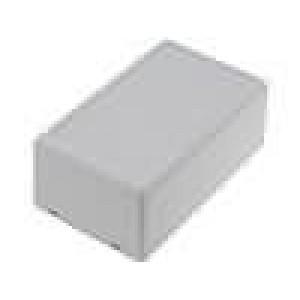 Krabička univerzální X:62mm Y:102mm Z:41mm ABS šedá