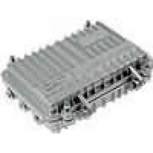 Krabička univerzální X:130mm Y:205mm Z:60mm hliník IP65