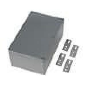 Krabička univerzální X:120mm Y:188mm Z:78mm hliník šedá IP65