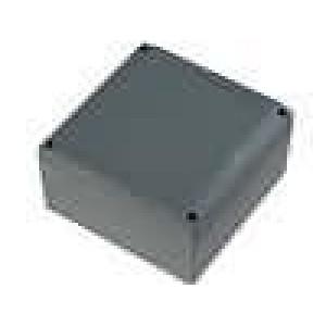 Krabička univerzální X:140mm Y:140mm Z:75mm hliník šedá