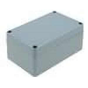 Krabička univerzální X:80mm Y:125mm Z:58mm hliník šedá IP65