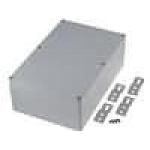 Krabička univerzální X:145mm Y:222mm Z:75mm hliník šedá IP65