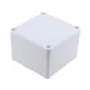 Krabička univerzální X:80mm Y:82mm Z:55mm ABS šedá