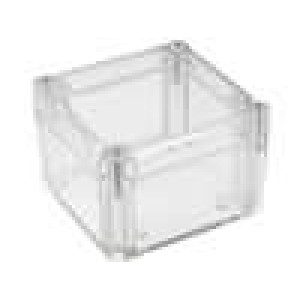 Krabička univerzální X:80mm Y:82mm Z:55mm ABS transparentní