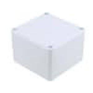Krabička univerzální X:80mm Y:82mm Z:55mm ABS šedá IP55