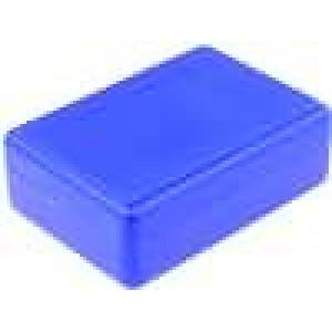 Krabička univerzální X:59mm Y:84mm Z:30mm ABS modrá
