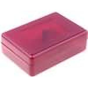Krabička univerzální X:59mm Y:84mm Z:30mm ABS červená