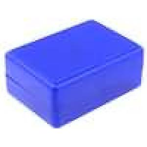 Krabička univerzální X:59mm Y:84mm Z:37mm ABS modrá