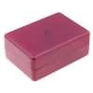 Krabička univerzální X:59mm Y:84mm Z:37mm ABS červená