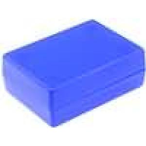 Krabička univerzální X:47mm Y:66mm Z:25mm ABS modrá