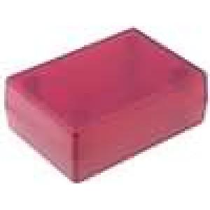 Krabička univerzální X:47mm Y:66mm Z:25mm ABS červená