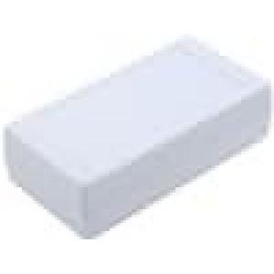 Krabička univerzální X:67mm Y:129mm Z:36mm polystyrén šedá