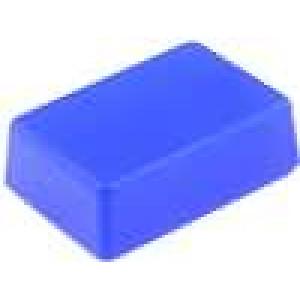 Krabička univerzální X:29mm Y:44mm Z:15mm ABS modrá