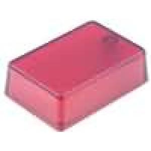 Krabička univerzální X:29mm Y:44mm Z:15mm ABS červená