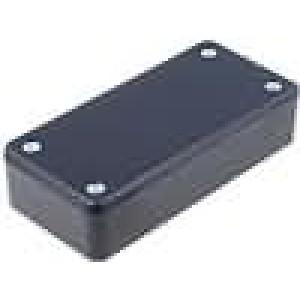 Krabička univerzální X:45mm Y:95mm Z:23mm polystyrén černá