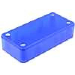 Krabička univerzální X:45mm Y:95mm Z:23mm ABS modrá