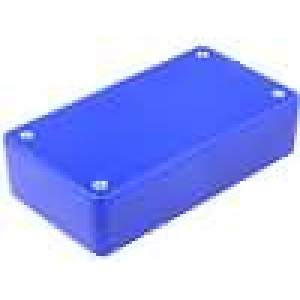 Krabička univerzální X:59,5mm Y:109mm Z:28mm ABS modrá