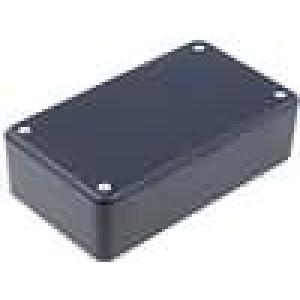 Krabička univerzální X:71,5mm Y:124mm Z:38mm polystyrén černá