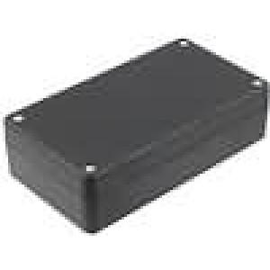 Krabička univerzální X:84,5mm Y:154mm Z:42,5mm polystyrén černá