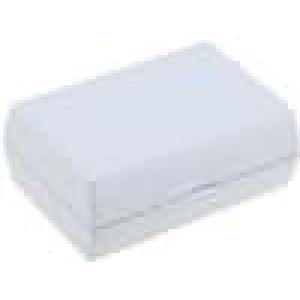 Krabička univerzální X:46,5mm Y:65,5mm Z:26,5mm ABS šedá