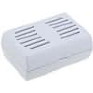 Krabička univerzální větraná X:46,5mm Y:65,5mm Z:26,5mm ABS šedá