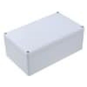 Krabička univerzální EUROMAS II X:120mm Y:200mm Z:77mm šedá IP65