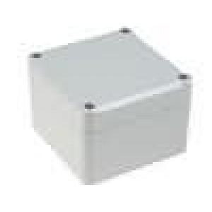 Krabička univerzální EUROMAS II X:80mm Y:82mm Z:57mm ABS šedá