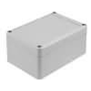 Krabička univerzální EUROMAS II X:80mm Y:120mm Z:57mm ABS šedá