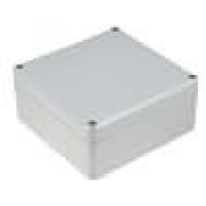 Krabička univerzální EUROMAS II X:120mm Y:122mm Z:57mm ABS šedá
