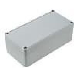 Krabička univerzální EUROMAS II X:80mm Y:160mm Z:57mm ABS šedá