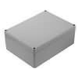 Krabička univerzální EUROMAS II X:150mm Y:200mm Z:77mm ABS šedá