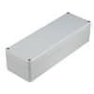 Krabička univerzální EUROMAS II X:80mm Y:240mm Z:60mm ABS šedá