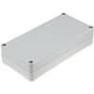 Krabička univerzální EUROMAS II X:80mm Y:160mm Z:37mm ABS šedá