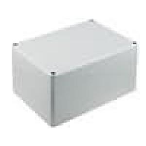 Krabička univerzální EUROMAS II X:120mm Y:160mm Z:92mm ABS šedá