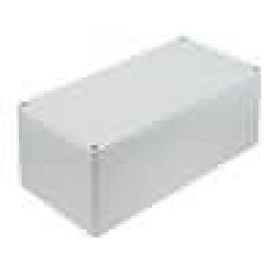 Krabička univerzální EUROMAS II X:120mm Y:240mm Z:102mm ABS šedá