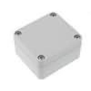 Krabička univerzální X:58mm Y:64mm Z:35mm polykarbonát šedá IP65