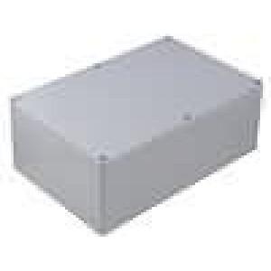 Krabička univerzální X:160mm Y:240mm Z:90mm polykarbonát šedá