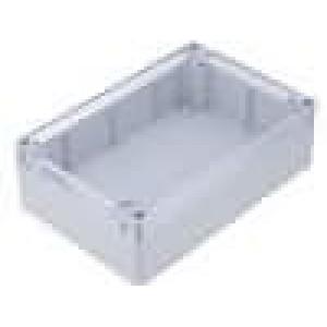 Krabička univerzální X:121mm Y:171mm Z:55mm polykarbonát šedá