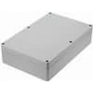 Krabička univerzální X:146mm Y:222mm Z:55mm polykarbonát šedá
