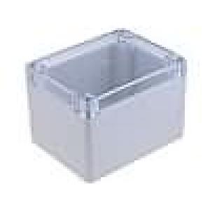 Krabička univerzální X:90mm Y:115mm Z:80mm polykarbonát šedá