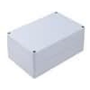 Krabička univerzální X:121mm Y:171mm Z:80mm polykarbonát šedá