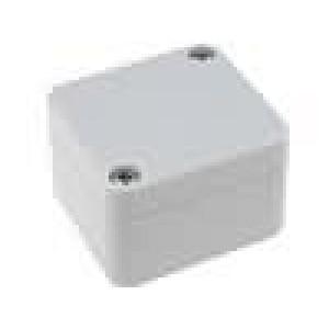 Krabička univerzální X:50mm Y:52mm Z:35mm polykarbonát šedá IP65