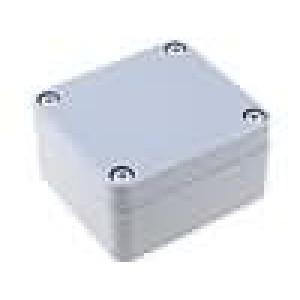 Krabička univerzální X:58mm Y:64mm Z:35mm ABS šedá IP65