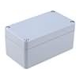 Krabička univerzální X:65mm Y:115mm Z:55mm ABS šedá IP65