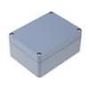 Krabička univerzální X:90mm Y:115mm Z:55mm ABS šedá IP65