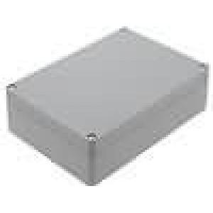 Krabička univerzální X:121mm Y:171mm Z:55mm ABS šedá IP65