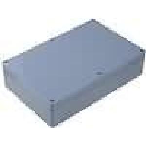 Krabička univerzální X:146mm Y:222mm Z:55mm ABS šedá IP65