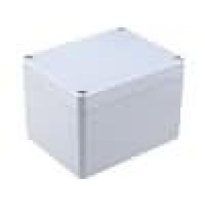 Krabička univerzální X:90mm Y:115mm Z:80mm ABS šedá IP65